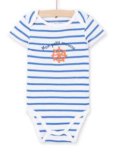 Body branco estampado bebé menino LEGABODMOU / 21SH14G1BDL000