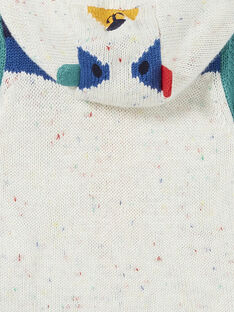 Casaco em tricô colorblock bebé menino KULUGIL1 / 20WG10P1GIL001
