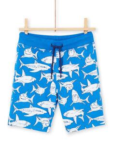 Conjunto de praia azul criança menino LOPLAENS4 / 21S902T2ENSC239