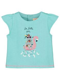T-shirt estampado bebé menina FICUTI2 / 19SG09N2TMC219