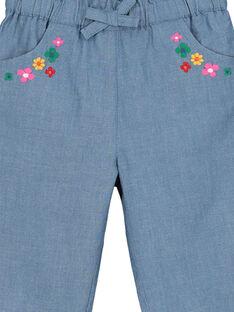 Calças em tecido bebé menina FICOPAN / 19SG0981PAN704