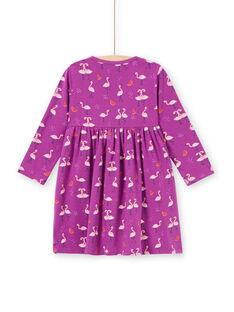 Camisa de noite violeta flamingos e melancias menina MEFACHUFLA / 21WH1131CHN712
