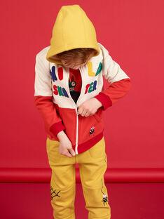 Casaco de malha forrado - Criança Menino LOROUGIL / 21S902K1GIL002