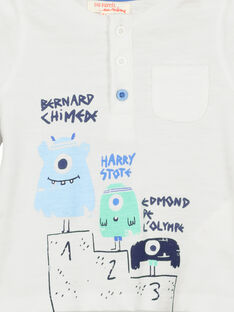 T-shirt de mangas compridas bebé menino FUNETUN / 19SG10B3TML000