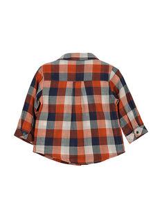 Camisa aos quadrados bebé menino FUBACHEM / 19SG1061CHM099