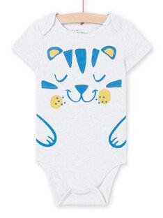 Body cinzento-mesclado estampado bebé menino LEGABODTIG / 21SH14G4BDLJ920