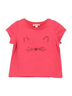 T-shirt fantasia bebé menina FIJOTI2 / 19SG0932TMC308