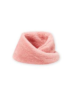 Snood rosa em imitação de pelo menina MYASAUSNOO2 / 21WI0163SNO303