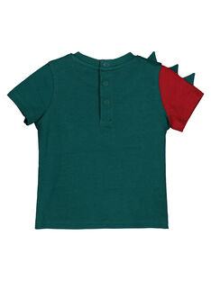 T-shirt de mangas curtas estampado menino GUVETEEEX / 19WG1021TMC608