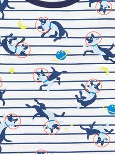 Pijama branco criança menino LEGOPYCOS / 21SH12C4PYJ001
