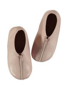 Pantufas couro rosa bebé menina GBFBOBEBE / 19WK37B1D0A030