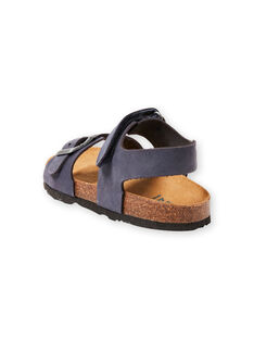 Sandálias azul-marinho menino LGNUBLEU / 21KK3656D0E070