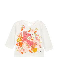 T-shirt mangas compridas bebé menina FIBATEE / 19SG0961TML001