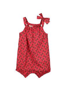 Babygro estampado bebé menina FIYEBAR / 19SG09M1BAR304