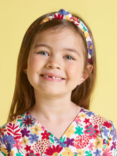 Bandolete com estampado florido menina MYAJOSERR2 / 21WI01S1TET009