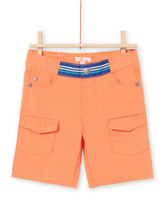 Bermudas laranja menino JOMARBER2 / 20S902P2BERE405