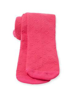 Collants rosa criança menina LYAESCOL6 / 21SI0167COLF507