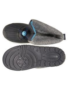 Botas de ski azul-marinho criança menino GGMONTGI / 19WK36W1D3N070