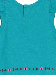 T-shirt bordados bebé menina FITUTI2 / 19SG09F2TMC202